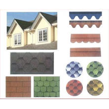 Cheap Asphalt Roof Shingle /Self Adhesive Roof Tile with ISO Certificate