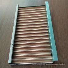 Paneles corrugados de aluminio
