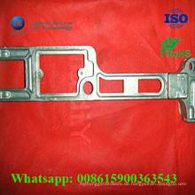 Kundenspezifisches Druckguss-Aluminiumlegierungs-Teil mit CNC-Drehprozess