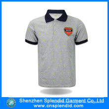 High Quality Custom Short Sleeve Cotton Polo Shirt Fashion Clothes