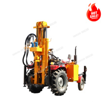 tractor air type Borehole Drilling Rig, mobile Water Well Drilling Rig for sale