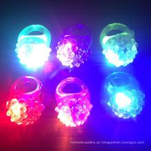 LED piscando geléia acidentada anéis