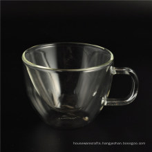 Double Wall Glass for Coffee, Cappuccino, Milk Tea