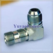 Conector de tubo hidráulico Jic de 90 graus
