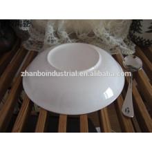 Diseño conciso, patrón de onda duradera cena de porcelana conjunto