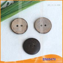 Boutons de noix de coco naturels pour le vêtement BN8047