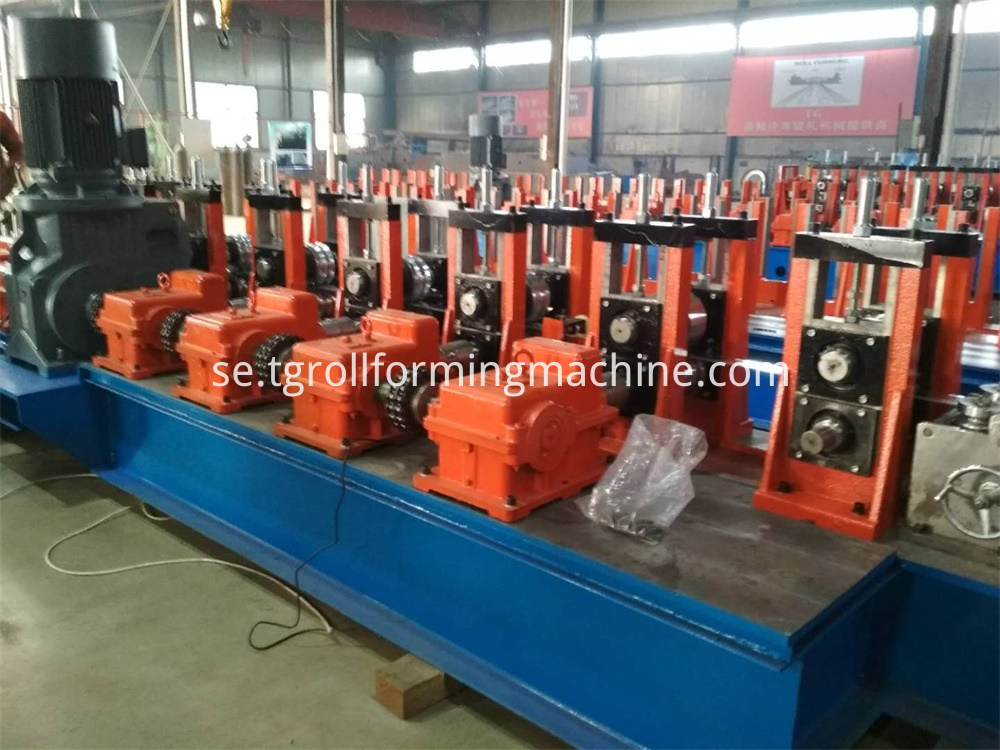 Security Palisade Fence Machine