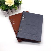 Высокое качество PU кожаный тетрадь книга в твердой обложке