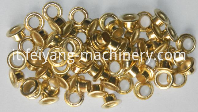 gold color eyelets for paper bag