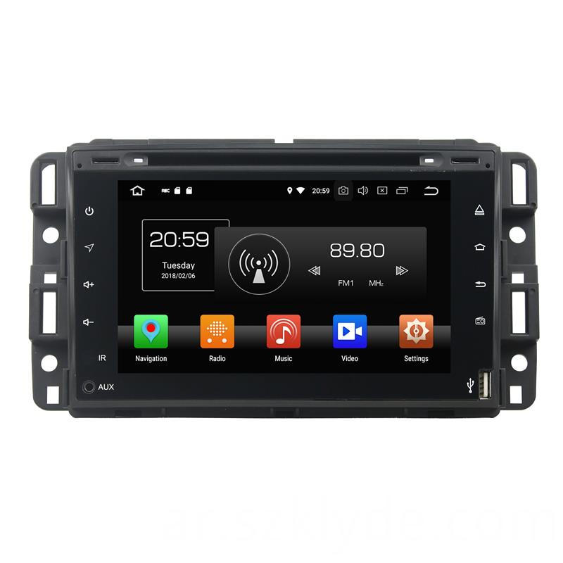 Android 8.1 GMC 2007-2012 Multimedia Player (1)