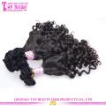 Оптовая 100 процентов российских тетенька Фунми волосы упругие локоны высшего класса 7a Фунми человеческих волос
