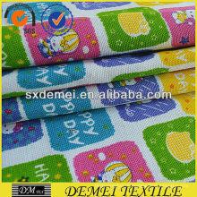 günstige Baumwoll-Stoff gedruckt Leinwand aus shaoxing