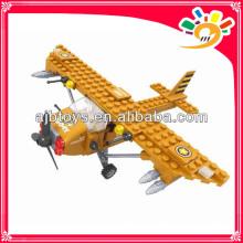 Selbstmontage Baustein Spielzeug Flugzeug Block (105pcs)