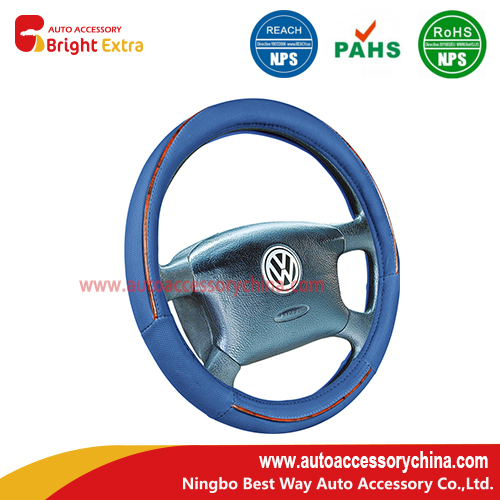 steering wheel covers blue