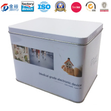 Metal Custom Printed Rectangle Shaped Box Packaging for Packaging