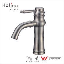 Haijun 2017 Produtos baratos inoxidável 304 torneiras de lavatório de banheiro escovado