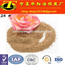 abrasives Walnussschalenpulver zum Polieren