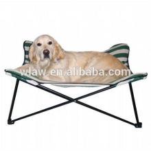 cama dobrável portátil do metal do animal de estimação e camas grandes do cão do poliéster