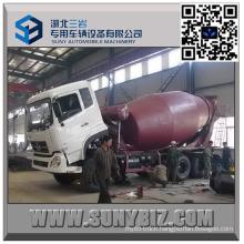 DFAC Dalishen Cummins Engine 8 M3 Cement Mixer Truck