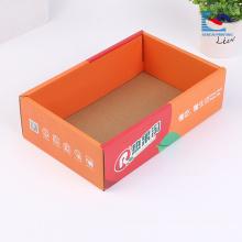 Caja de papel acanalada del té del diseño único de encargo barato de la fábrica