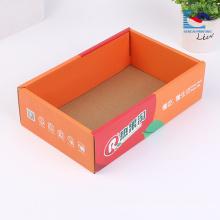Boite en carton ondulé de thé unique design personnalisé pas cher usine