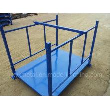 Faltbarer Faltbarer Stapelbarer Stahlkonstruktion Metalllagerung