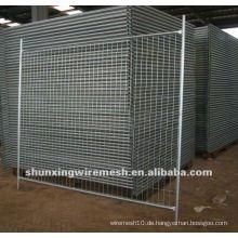 Verzinkte dann PVC beschichtete temporäre Zaunfabrik