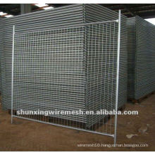 Galvanized then PVC Coated Temporary Fence Factory