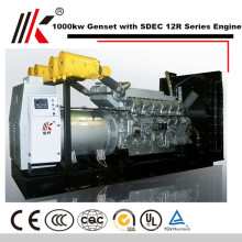 1250KVA 30MW GENERATOR WITH SILENT SHANGHAI DIESEL ENGINE PARTS