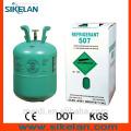 R507 Refrigerant Gas of High Quality,30lb Cylinde
