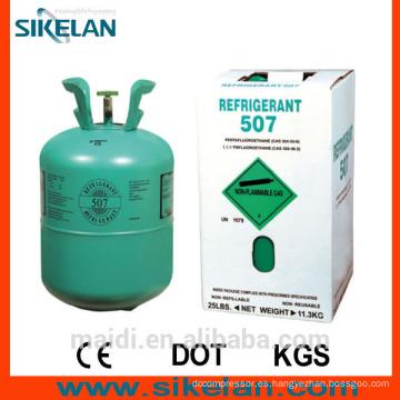 R507 Refrigerante usado en acondicionadores de aire