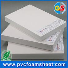 Folha branca brilhante da espuma do PVC Celuka da superfície contínua