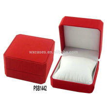 New leather watch box for single watch from China manufacturer
