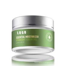 Crème hydratante essentielle pour le visage
