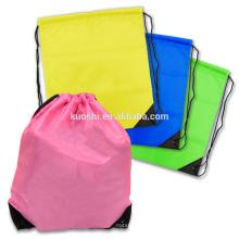 Small fabric kids drawstring bag