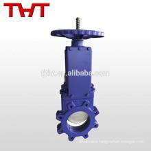 bi-directional double sealing knife gate valve
