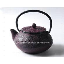 Pcp06 Чугунный чайник в фиолетовый цвет