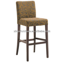 Upholstery Solid wooden high bar chair XYH1061