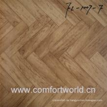 PVC-Schwamm Bodenbelag verwendet Indoor-Bambus-Muster