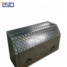 Caixas de ferramentas úteis do caminhão da fonte do trator do alumínio Caixas de ferramentas úteis do caminhão da fonte do trator do alumínio