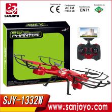 SKY PHANTOM 1332 rc quadcopter 2.4G 4CH 6-Axis cámara rc drones Wifi FPV RC drone SJY-1332W