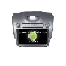 Quad core! DVD de coche con enlace de espejo / DVR / TPMS / OBD2 para pantalla táctil de 8 pulgadas de cuatro núcleos 4.4 sistema Android CHEVROLET S10 / D-MAX