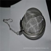 coador de chá de aço inoxidável personalizado de fábrica