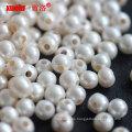 8-9mm große Loch Runde Süßwasser Perlen Großhandel für Schmuck