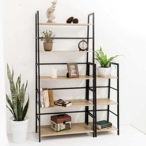 Hot on Amazon Black Metal Desktop Bookshelf Bookcase