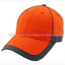 Светоотражающие полосы 100% полиэстер неоновые цвета безопасности бейсболка (TMB0686)