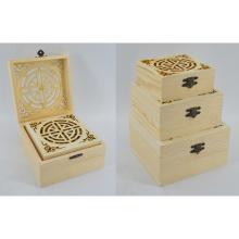 New Natural Wooden Box Set