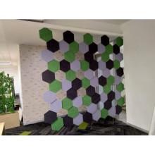 fabric felt acoustic foam panel
