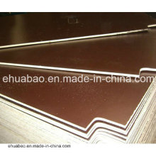 21 * 1250 * 2500mm Película marrón de la película del revés de la madera contrachapada del álamo