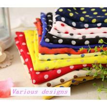 Neuestes Design Reactive Printed Soft Chiffon Kleid Stoff